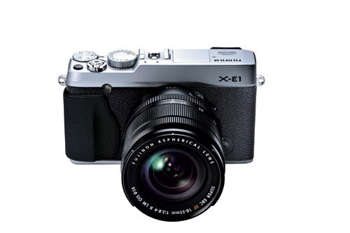 X-E1-SIL-18-55mm-front-top-