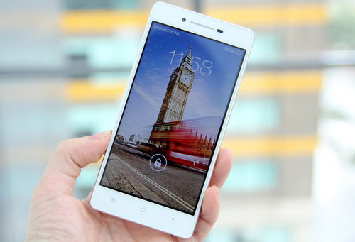 SmartPhone dáng mỏng Oppo R1